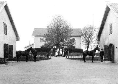 Gudhems Kungsgård början av 1900