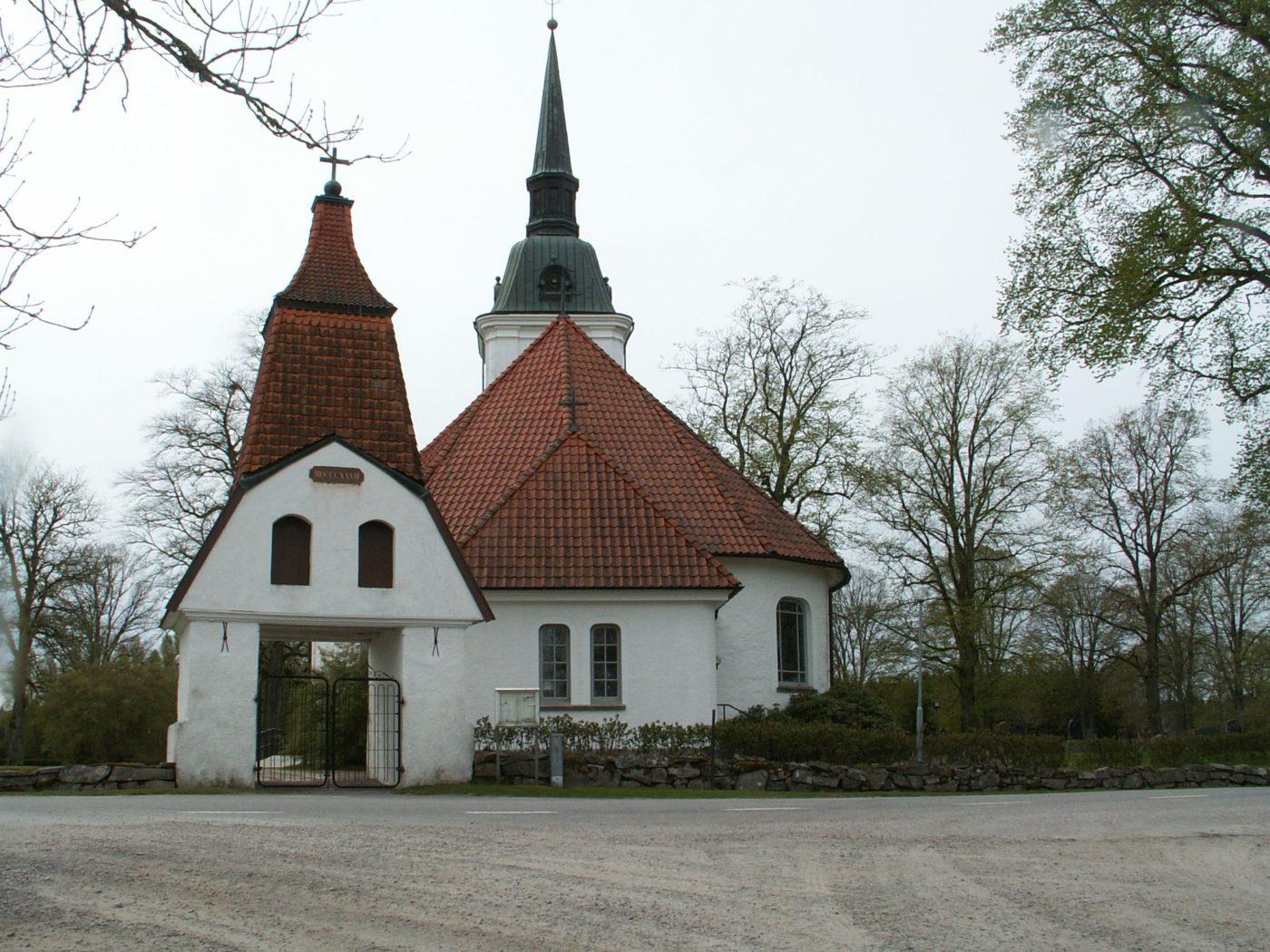 Främmestads kyrka Skara Foto Hans Menzing