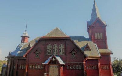 Hälleviksstrands kyrka Foto Bo Adriansson
