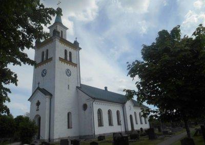 Knäreds kyrka Laholm Foto Bo Adriansson