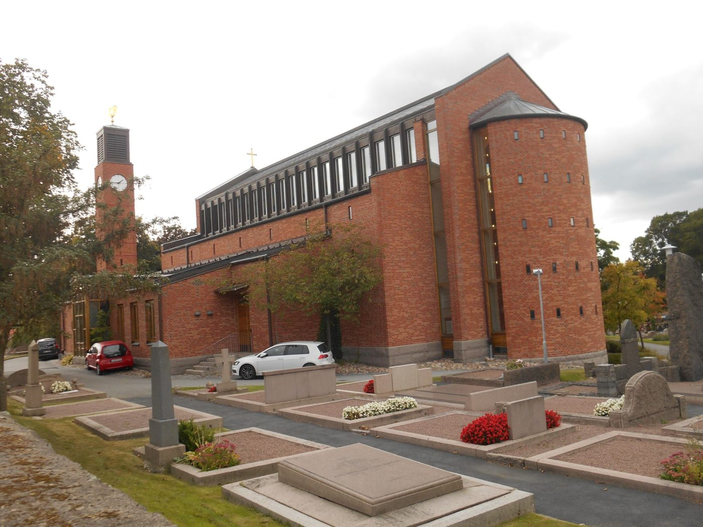 Lundby nya kyrka Foto Bo Adriansson