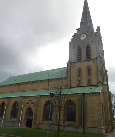Sankt Nikolai Kyrka i Halmstad Foto Bo Adriansson