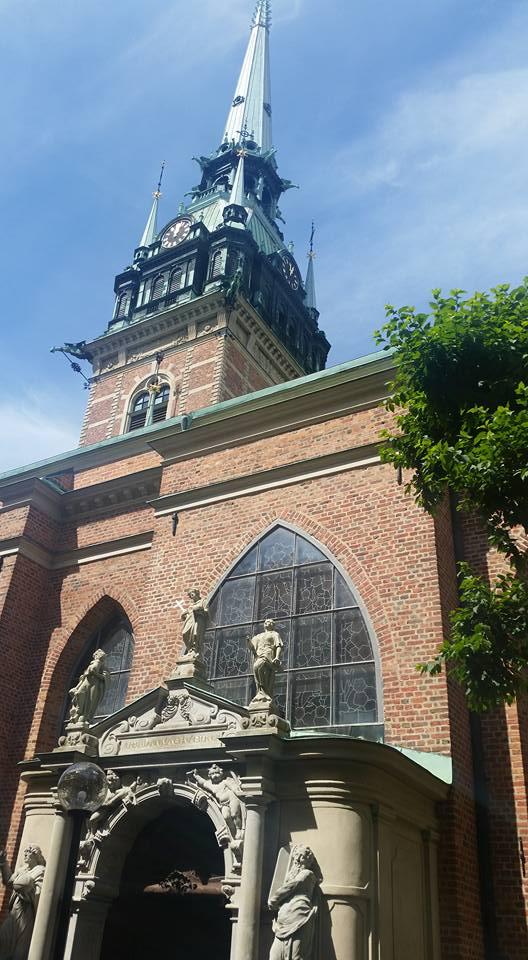 Sankta Gertruds kyrka Gamla stan Stockholm Foto Bo Adriansson