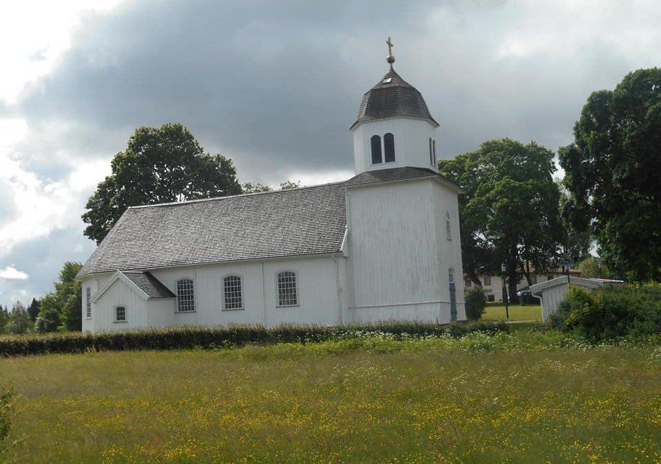 Strängsereds träkyrka Ulricehamn