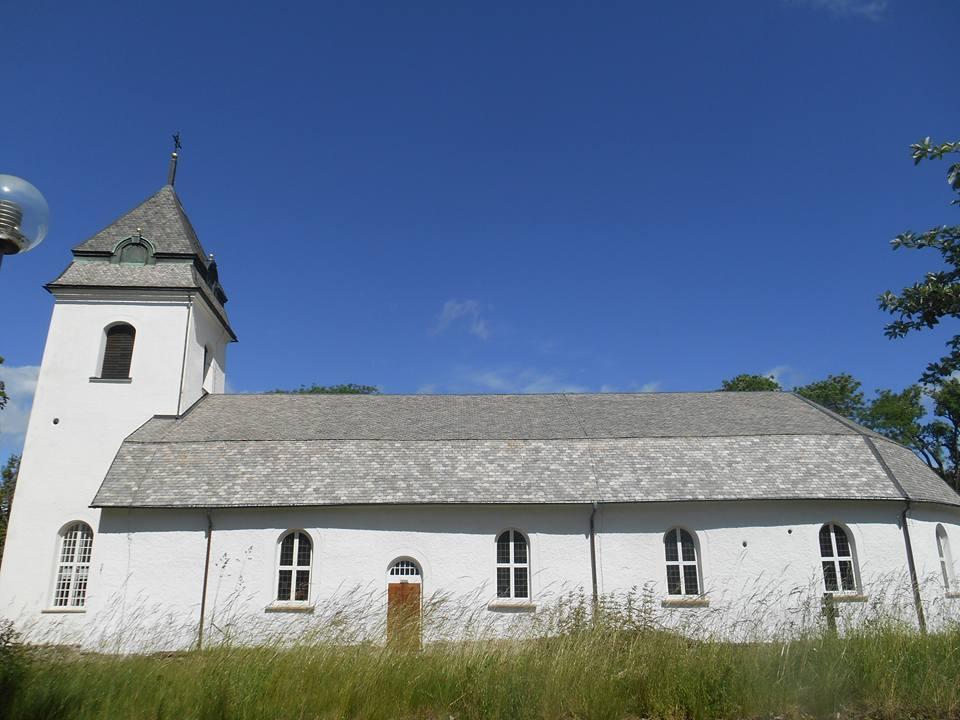Västra Tunhems kyrka Foto Bo Adriansson