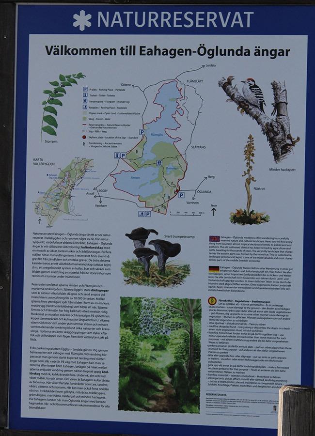 Eahagen---öglunda-ängar-naturreservat-info-skylt
