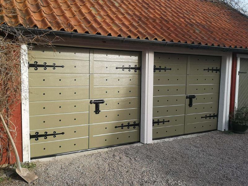 Garage Portexperten i Falköping äldre stil
