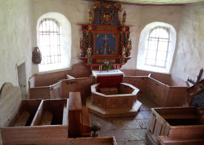 Ornunga gamla kyrka Foto Sture Björnson(13)