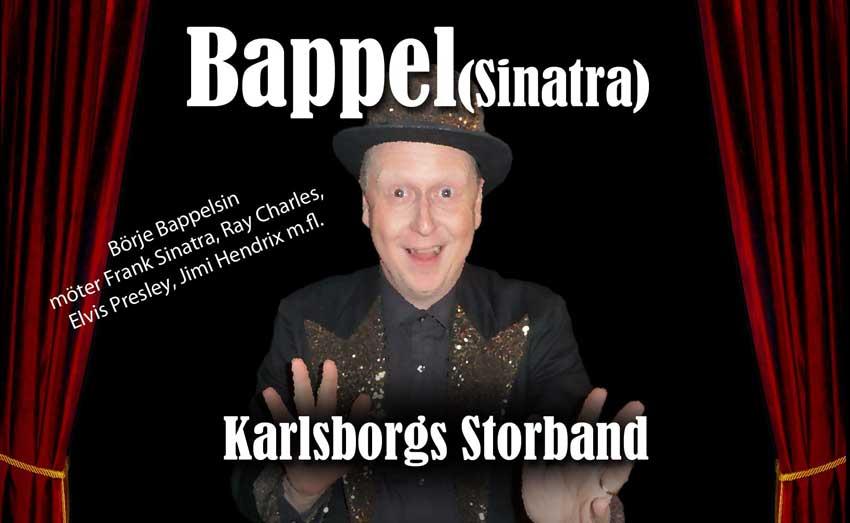 Bappel(sinatra) LIGHT – Börje Bappelsin med pianist