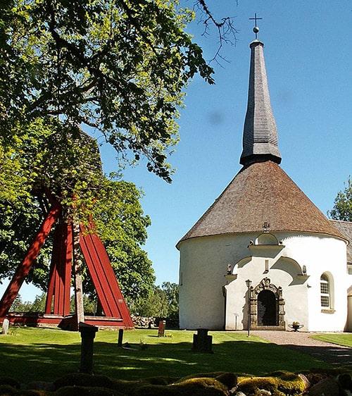 Kyrkan i Skörstorp Falköping