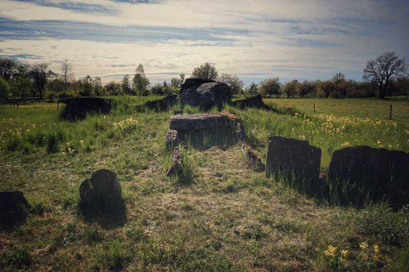 Storstensgravar i Rössberga