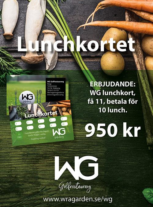 Lunch – WG Golfrestaurang Falköping