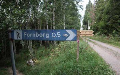Fornborgen Ymsingsborg i Skövde
